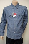 levi's® core western denim shirt 60491.00.10