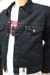 levi's® western style denim jacket 72510.00.14 black