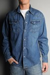 wrangler denim shirt w5102.78.11
