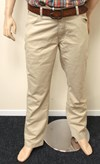 wrangler texas stretch trousers parchment sand w121-tj-259