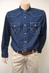 wrangler core denim shirt w550.ua.14w